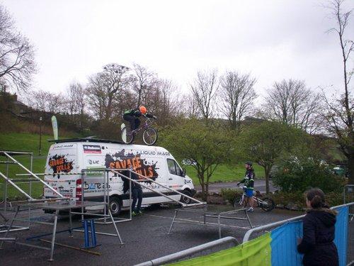 Festival in Greenfoot - Stunt Bike display