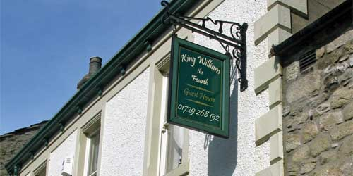 king william the fourth guest house in settle the yorkshire dales