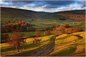 Great to cycle / walk these dales and lanes