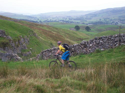Pennine Way MTB near Horton in Ribblesdale