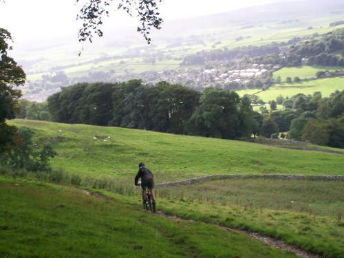 Settle Loop part of Pennine Bridleway MTB