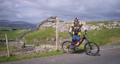 Pennine BW for MTB near Winskill Top (Stainforth)