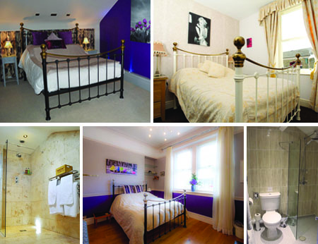 King William Guest House Rooms Collage