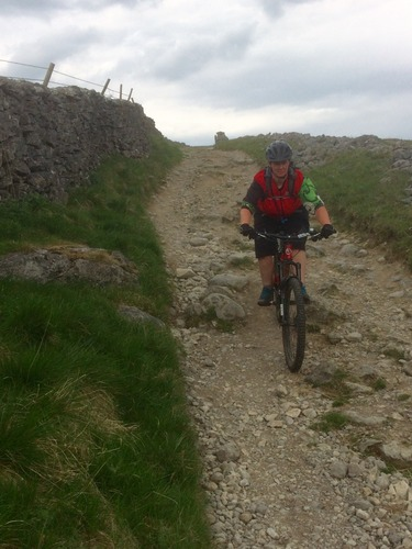LongLane descent on Pennine Bridleway