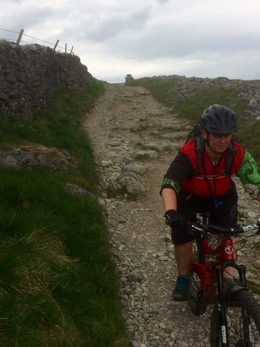 Concentration Face on LongLane descent !