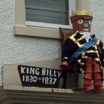 King William the Fourth Flowerpot Ready for the Summer Festival