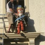 King William the Fourth Flowerpot Getting King Billy on his Throne!