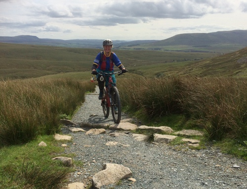 Bridleway Force Gill Ridge (Whernside) MTB
