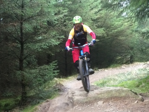 Gisburn Forest MTB Trail 8 Red Trail