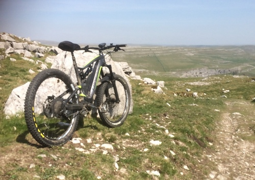 Pennine BW to Malham Cove Road eMTB