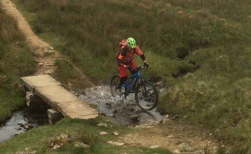 Tour de Pen Y Ghent MTB towards Fox Up