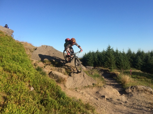 Gisburn Forest MTB Whelpstone Crag Black Option route