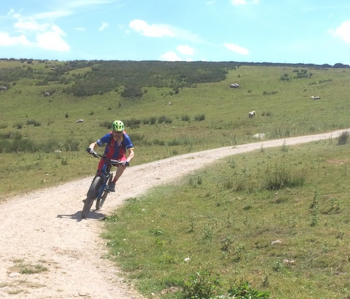 Gooseker MTB Descent to Stainforth in Yorkshire Dales