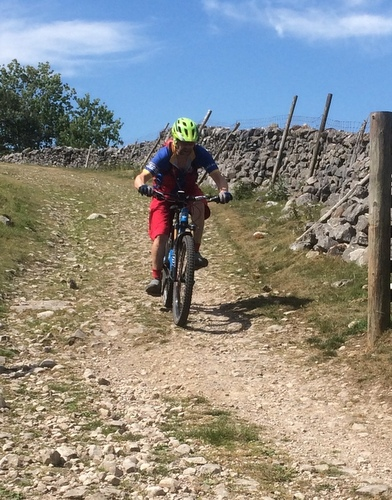 Littondale Decent MTB in Yorkshire Dales