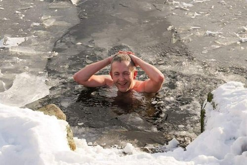 Ice Dip Yorkshire Dales